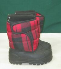 NEW Polo Ralph Lauren Vancouver Zip Snow Boots - black toddler Size  9 C