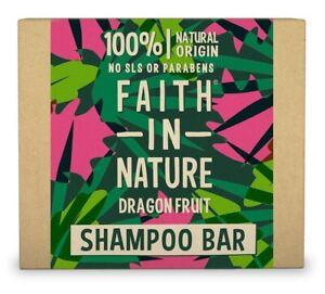 Faith in Nature Fruit Du Dragon Shampooing Barre 85g - Végétalien - sans Paraben