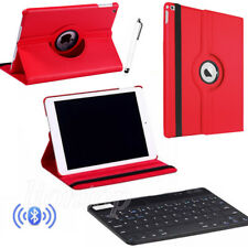 For iPad 9.7 A1822 A1823 / Pro 10.5 2017 Rotating Case Cover +Bluetooth Keyboard
