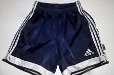 Adidas Vintage Black SATIN Soccer Shorts SMALL Used (COLLECTOR'S ITEM)