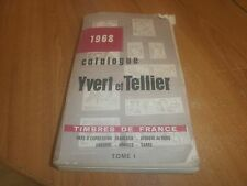catalogue Yvert et Tellier 1968 (56)