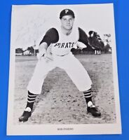 BOB FRIEND SIGNED 8x10 PROMO PHOTO ~ PIRATES ~ BASEBALL AUTOGRAPH
