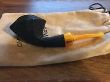 """Unsmoked Vermont Freehand """"Norsedog"""" Morta Tobacco Pipe Briarworks Steve Norse"""