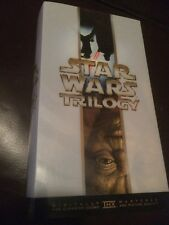 STAR WARS TRILOGY  VIDEOS X 3 A RARE FIND VHS PAL VIDEO