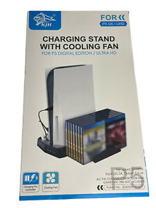 PS5 Charging Stand with Cooling Fan for P5 DE/UHD Edition ** US SELLER **