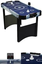 Air Hockey Table 48 inch Electronic Score Game Room Kids Play Family Smaller Fit