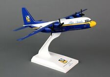 "SKYMARKS (SKR725) USMC ""BLUE ANGELS C-130 1:150 SCALE PLASTIC SNAPFIT MODEL"