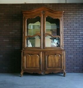 Hutch ~ China Cabinet ~ Country French China Cabinet by Ethan Allen