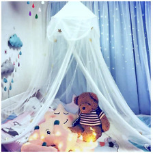 Nydecor Mosquito Net Bed Canopy Netting Curtains Princess Stars Indoor Outdoor D