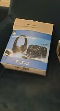 ps4 stereo gaming headset started kit and psp data charge usb cable
