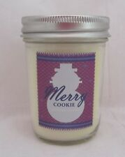 Bath & and Body Works Mason Jar Candle 1 Wick Merry Cookie 6 oz 30-40 hours