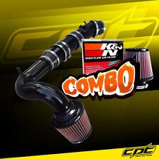 04-11 Mazda RX8 RX-8 1.3L Black Cold Air Intake + K&N Air Filter