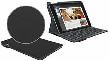 Logitech tipo iPad Air 1 Inalámbrico Keyboard folio funda Líquido repelente