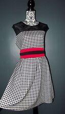 PRASLIN ROBE DRESS RETRO FIFTIES POP T UK 22 OU 48/50