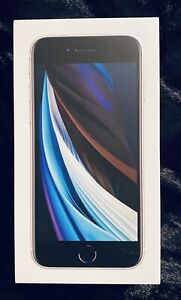 (EMPTY BOX ONLY) Apple iPhone SE  2020 Product White 128GB - No device