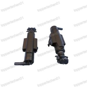 1Pair Headlight Head Lamp Washer Spray Nozzle Pump For Ford Kuga 2017-2019