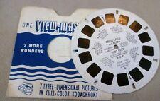 Vintage Viewmaster - Sawyer's Single Reel 933-C Brave Eagle and Keena Hunt Deer
