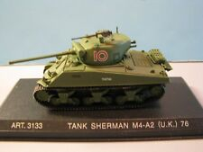"ARMOUR MODELS (#3133) 1:72 SCALE BRITISH ARMY M4-A2 ""SHERMAN"" TANK WITH 76MM GUN"