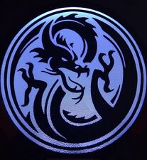 Dragon Light Up Decal Powerdecal Backlit LED Motion Sensing Auto Decal