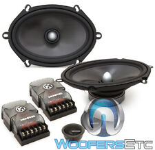 "MEMPHIS MCX57C 5""x7"" CAR 100W COMPONENT MIDS SPEAKERS TWEETERS CROSSOVERS NEW"