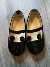 Girls H & M Toddler Black Patent Leather Dress Shoes- 6.5 Toddler Size