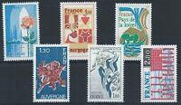 FRANCE 1975 SG2086-2091 Regions of France Set Mint MNH