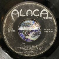 "modern soul funk boogie 7"" AJAXXX BAND Freak the Freaks ♫ Mp3 Alaca INSTRO 1982"