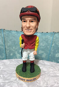 Woodbine 2002 Sandy Hawley Autographed Bobble Head - Numbered