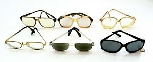 Lot of Vintage 1970's era RX Eyeglasses and Sunglasses ~ Mens and Womens