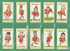 DAILY  TELEGRAPH  -  BEAUTIFUL  SET  OF  26  - WALES  RUGBY  WORLD  CUP  1995