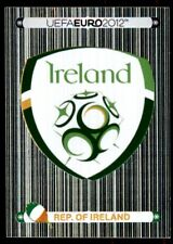 Panini Euro 2012 (Swiss Platinum Edition) Badge (Republic of Ireland) No. 340