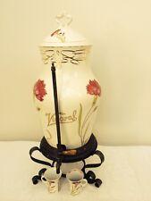 SALE   C.T. Altwasser Silesia Porcelain & Copper Armour's Bouillon Dispenser