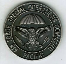 Air Force Special Operations Command Pacific Challenge Coin AFSOC 1 17 31 SOS