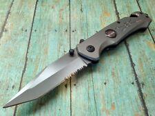 Harley Davidson Tanto Blade Pocket Knife Camping Stainless Steel Folding Blade