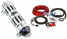 NEW Soundstream SCX-4 4 Farad Digital Stiffening Capacitor With Voltage Meter