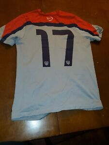 NIKE USMNT OFFICIAL TRAINING JERSEY  size M #17