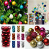 Large Christmas Decor Baubles Tree Xmas Balls Party Wedding Ornament 24/48pcs UK