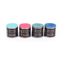 New 4 Color Billiard Stick Chalks Pool Cue Chalk Snooker Billiard Accessories TR