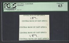 East Africa Central Bank Test Proof Unciruclated