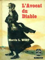 L'Avocat Du Diable Morris L. West Plon 1959 Le Livre De Poche
