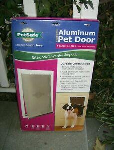 PetSafe Doggie Door XL Freedom Aluminum Pet Dog Door X-Large PPA00-10862