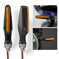 Motorcycle Sequential Flowing LED Turn Signal Indicator Light For Yamaha Honda