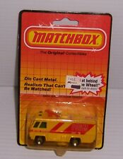 1983 MATCHBOX MB 54 AIRPORT FOAM TENDER MOC