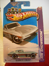 Hot Wheels '64 Corvette Sting Ray HW Showroom Lt. Blue