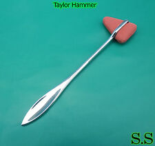 4 TAYLOR REFLEX HAMMERS DIAGNOSTIC SURGICAL INSTRUMENTS
