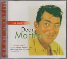 The Most of Dean Martin by Dean Martin (CD, May-2003, Ais)