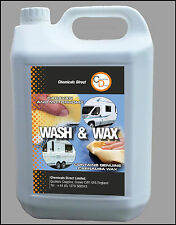 Caravan and Motorhome 5 Ltr Carnauba Wash and Wax cleans, shines and protects
