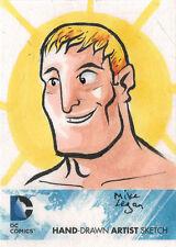 DC Comics New 52 Sketch Card by Mike Legan of Aquaman