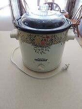 RIVAL CROCK POT STONEWARE SLOW COOKER  MODEL 3100