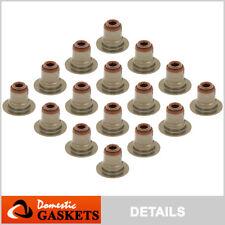 Valve Stem Seals fit 01-16 Chevrolet Buick Cadillac GMC 4.8L 5.3L 6.0L 6.2L OHV